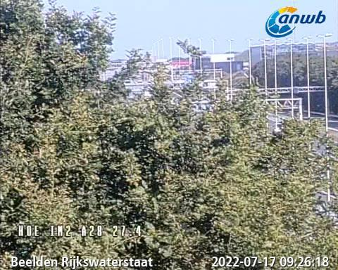 Traffic Cam A1 A28 Knp Hoevelaken Netherlands Hoevelaken Netherlands - Webcams Abroad live images